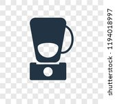 mixer vector icon isolated on... | Shutterstock .eps vector #1194018997