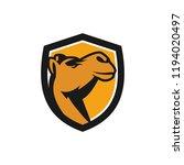 camel logo design | Shutterstock .eps vector #1194020497