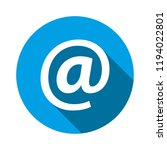 email address icon. vector...