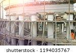restoration of a building... | Shutterstock . vector #1194035767