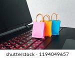 online shopping   e commerce... | Shutterstock . vector #1194049657