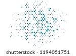 light blue vector backdrop with ... | Shutterstock .eps vector #1194051751