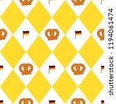 munich beer festival flags and... | Shutterstock . vector #1194061474