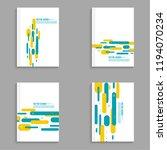 cover for journal  magazine.... | Shutterstock .eps vector #1194070234