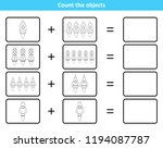 educational mathematical game... | Shutterstock .eps vector #1194087787