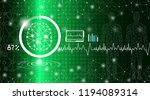 abstract background technology... | Shutterstock .eps vector #1194089314