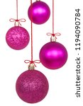 Christmas Ornaments Isolated On ...