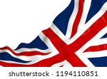 waving flag of the great... | Shutterstock . vector #1194110851