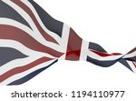 waving flag of the great... | Shutterstock . vector #1194110977