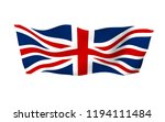 waving flag of the great... | Shutterstock . vector #1194111484