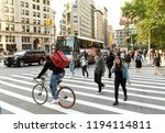 new york  usa   june 7  2018 ... | Shutterstock . vector #1194114811