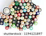 battery recycling.... | Shutterstock . vector #1194121897