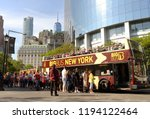 new york  usa   may 30  2018 ... | Shutterstock . vector #1194122464