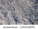 surface of pebbles and gravel... | Shutterstock . vector #1194132091
