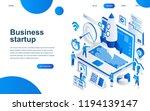 modern isometric design concept ... | Shutterstock .eps vector #1194139147