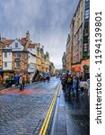 edinburgh  scotland   august 14 ... | Shutterstock . vector #1194139801