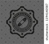 bandage plaster icon inside...   Shutterstock .eps vector #1194140587