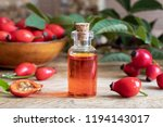A Bottle Of Rosehip Seed Oil...