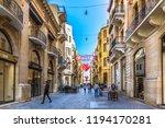 beirut  lebanon   feb 5th 2018  ... | Shutterstock . vector #1194170281