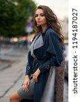 fashion style portrait of... | Shutterstock . vector #1194187027