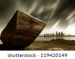 the other side of the city ... | Shutterstock . vector #119420149