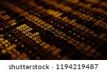 3d render abstract background... | Shutterstock . vector #1194219487