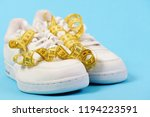 sport shoes and sportive... | Shutterstock . vector #1194223591