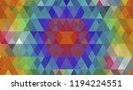 geometric design  mosaic ...   Shutterstock .eps vector #1194224551