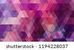 geometric design  mosaic ...   Shutterstock .eps vector #1194228037