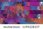 geometric design  mosaic ...   Shutterstock .eps vector #1194228157