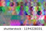 geometric design  mosaic ...   Shutterstock .eps vector #1194228331