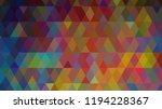 geometric design  mosaic ...   Shutterstock .eps vector #1194228367