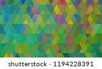 geometric design  mosaic ...   Shutterstock .eps vector #1194228391