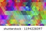 geometric design  mosaic ...   Shutterstock .eps vector #1194228397