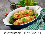 minced meat chicken and... | Shutterstock . vector #1194232741
