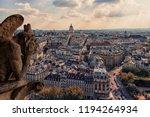 Notre Dame's Gargoyle In Paris...
