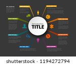 vector multipurpose infographic ... | Shutterstock .eps vector #1194272794