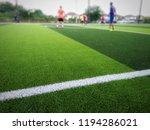 futsal in thailand as photo... | Shutterstock . vector #1194286021