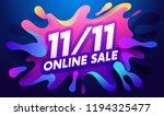 global shopping festival... | Shutterstock .eps vector #1194325477