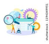 seo concept optimization....   Shutterstock .eps vector #1194349951