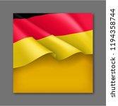 germany patriotic festive... | Shutterstock .eps vector #1194358744