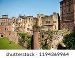 inside and decor of heidelberg...   Shutterstock . vector #1194369964