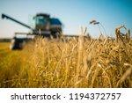 Combine Harvester  Wheat...