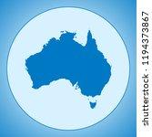 map of australia | Shutterstock .eps vector #1194373867