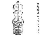 vector illustration of hand... | Shutterstock .eps vector #1194376954