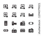 electronics   technology icons