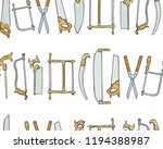 vector seamless pattern with... | Shutterstock .eps vector #1194388987
