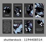stock vector art brochure... | Shutterstock .eps vector #1194408514