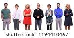 beautiful international people | Shutterstock . vector #1194410467
