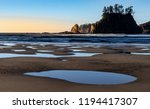 Second Beach is located at La Push, Washington and is the flattest of the 3 beaches. The 1 mile trail to the coast starts the Quileute Indian Reservation.